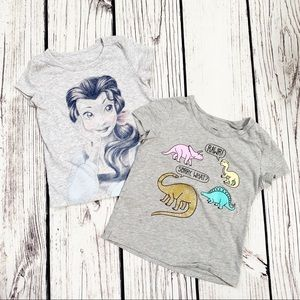 Girls toddler shirts bundle 2t 3t